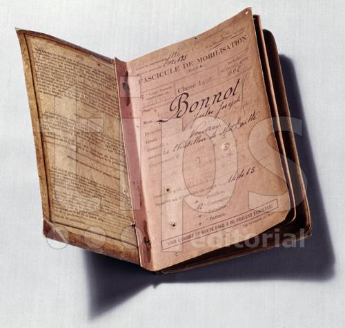 Στρατιωτικό φυλλάδιο του Bonnot