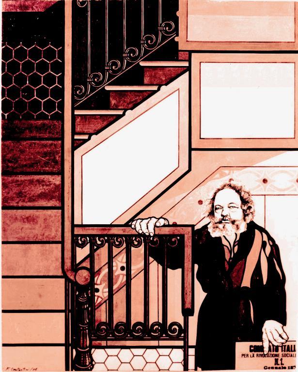 ο Ρώσος αναρχικός Mikhail Bakunin