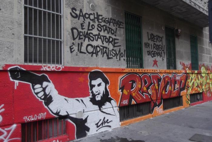 """""""Ο συλητής είναι το κράτος, ο καταστροφέας είναι ο καπιταλισμός!"""""""