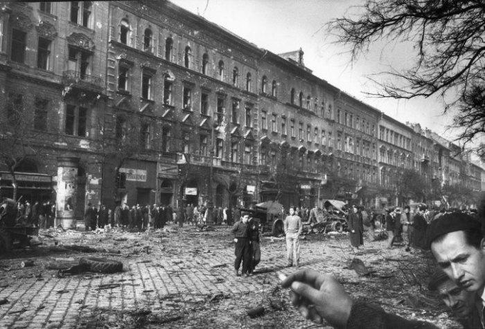 Βουδαπέστη, 1956.