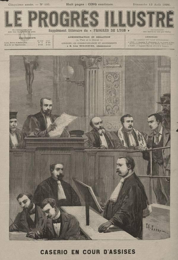 Δίκη του Σάντε Καζέριο