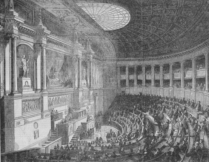 Βουλή των Αντιπροσώπων, Παρίσι