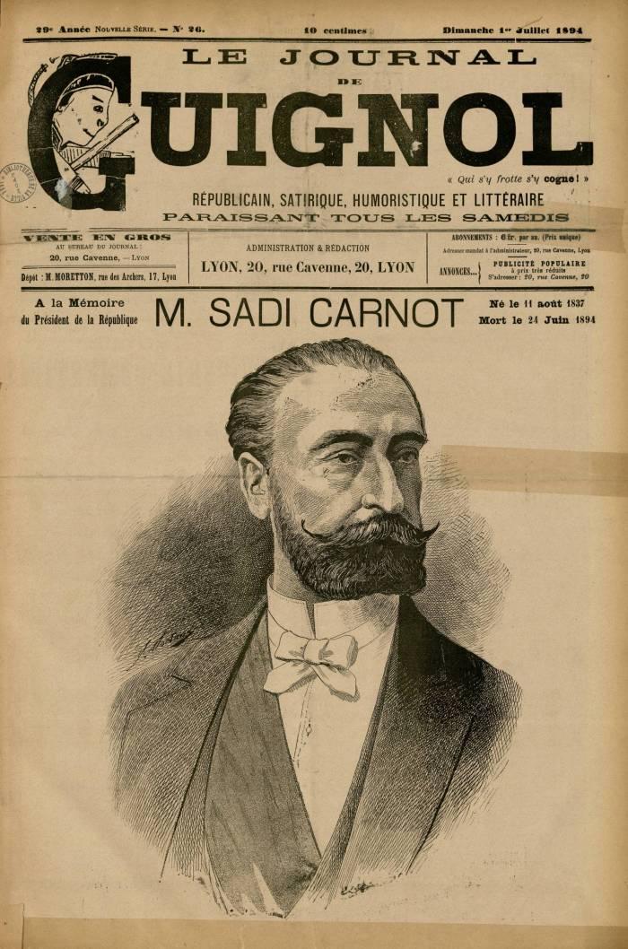 Αφιέρωμα στον Καρνό, Le Journal de Guignol