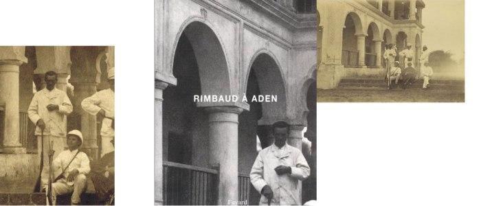 Περίχωρα του 'Αντεν, 1880. Ο Ρεμπώ είναι ο όρθιος άνδρας αριστερά με το όπλο (εκείνη την εποχή έκανε εμπόριο όπλων!).