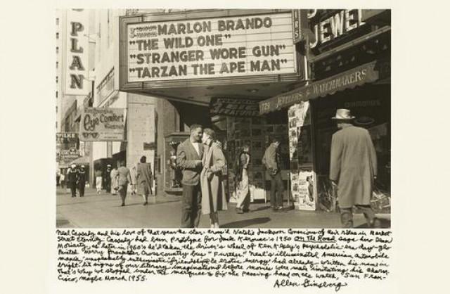 Ο Cassady με μια φίλη του στο San Francisco (1950)