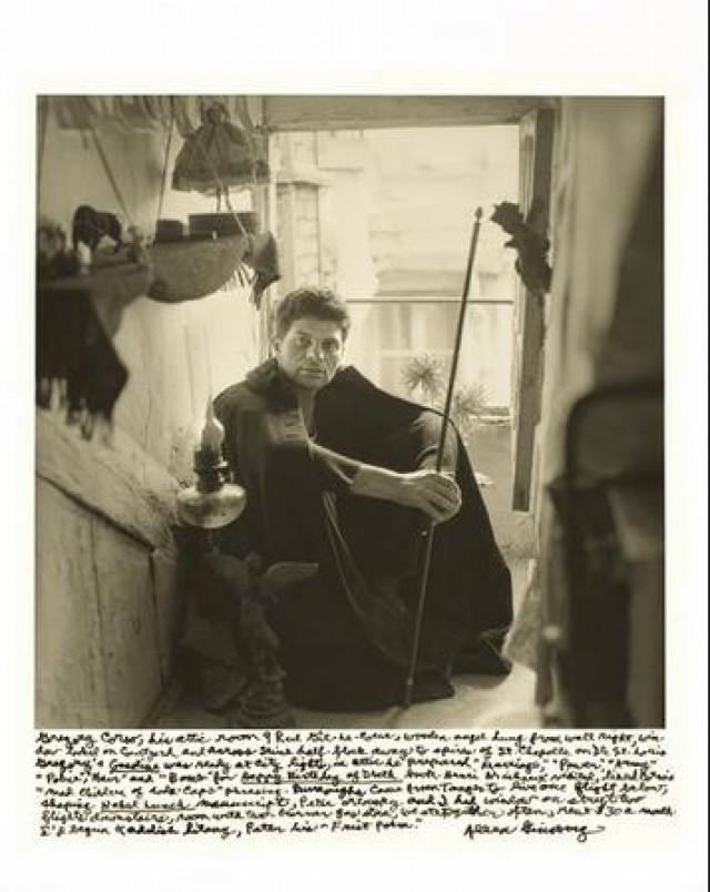 Ο συγγραφέας Gregory Corso στο Παρίσι (1956)