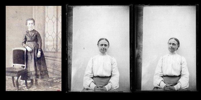 Οι δύο αδερφές του Rimbaud. Αριστερά η Jeanne Rosalie Vitalie (πέθανε σε ηλικία 17 ετών) και δεξιά η Frédérique Marie Isabelle (ή Isabelle). Η Isabelle κατηγορήθηκε ότι λογόκρινε τις επιστολές και τα ποιήματα του αδερφού της στο όνομα μιας καθολικής ηθικής. Νέες μελέτες υπογραμμίζουν αντίθετα την αφοσιωσή της στον αδερφό της και στο έργο του.