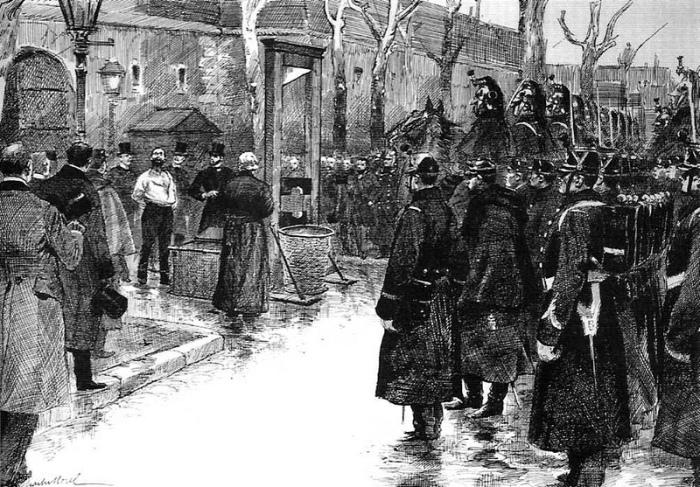 Εκτέλεση του Auguste Vaillant