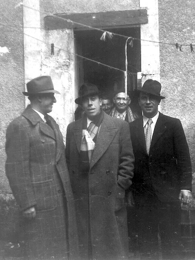 Fernandel και τον Ιακώβ στη Berthier Pierre Valentin, άγνωστη ημερομηνία
