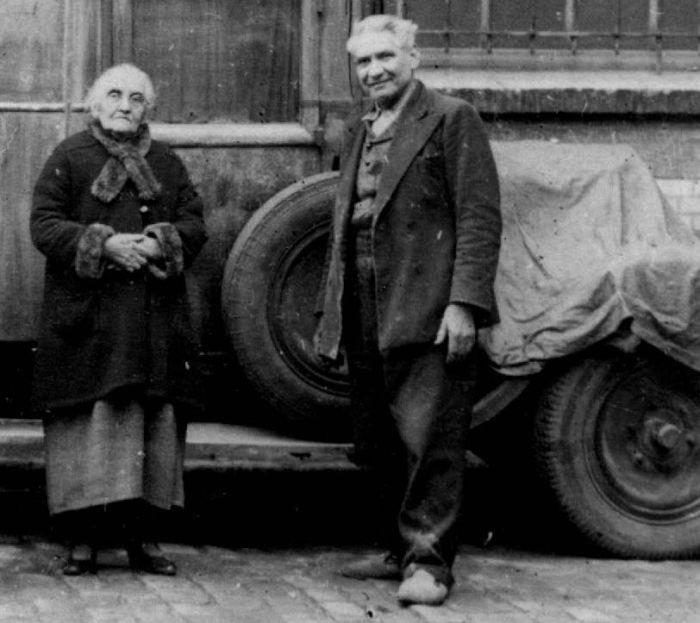 Ο Ζακόμπ με τη μητέρα του Marie