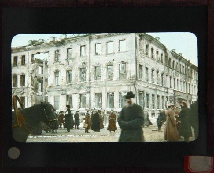 Ετοιμόρροπο κτίριο στη Μόσχα