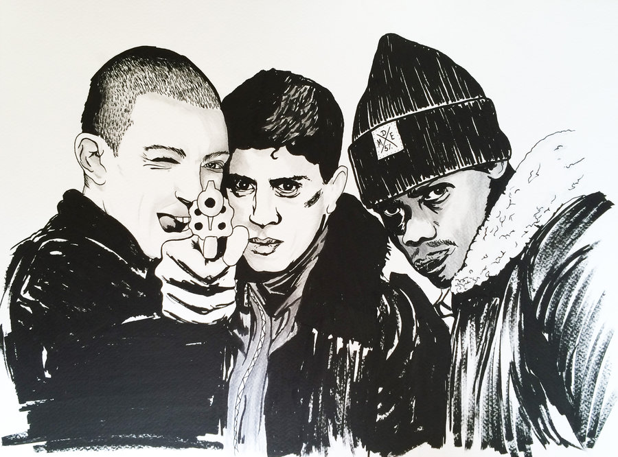la_haine_by_artwarriors-d7klk4u